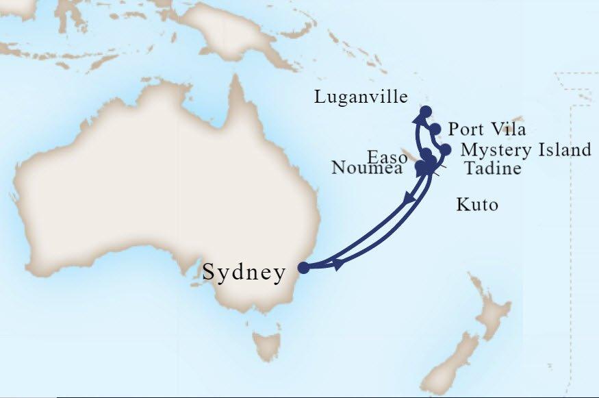 挪威遊輪清艙 12月澳洲塔斯馬尼亞八日台幣16500