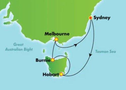 挪威遊輪清艙 12月澳洲塔斯馬尼亞八日台幣16,500