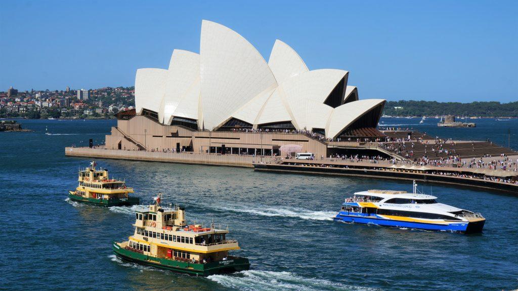 雪梨一日遊 - 雪梨歌劇院