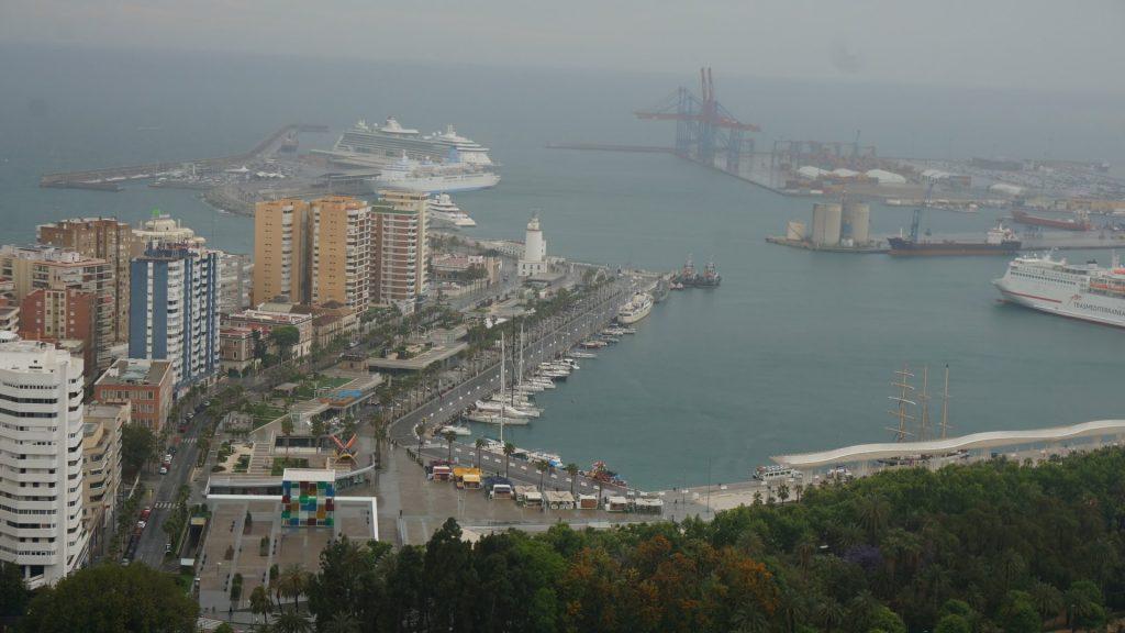 西班牙熟齡遊學 - 馬拉加城市