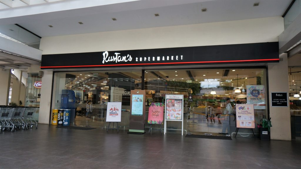 Cella One 校區附近的 Rustan's Supermarket