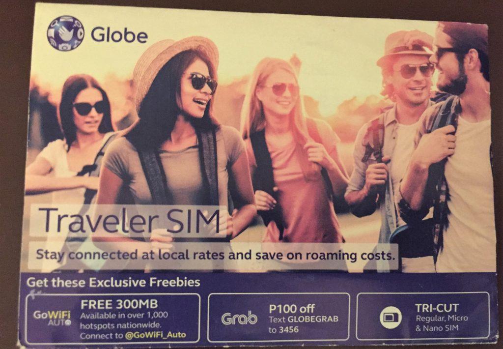 Globe SIM 卡