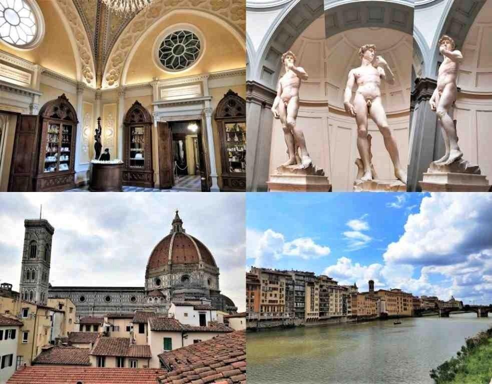 義大利自由行 - 百年修道士藥妝店、學院美術館、聖母百花大教堂、阿諾河左岸