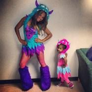 Christina Milian and daughter Violet