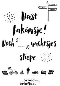 Fakansje_noch_X_nachtsjes