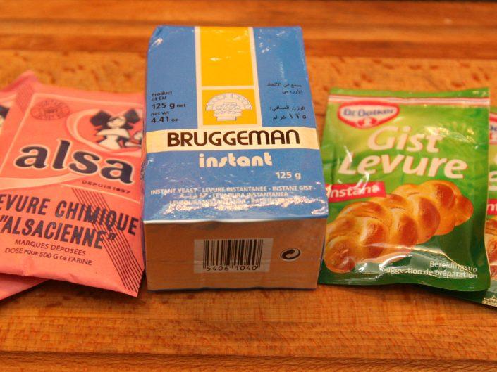Bruggeman gedroogde gids en bakpoeder