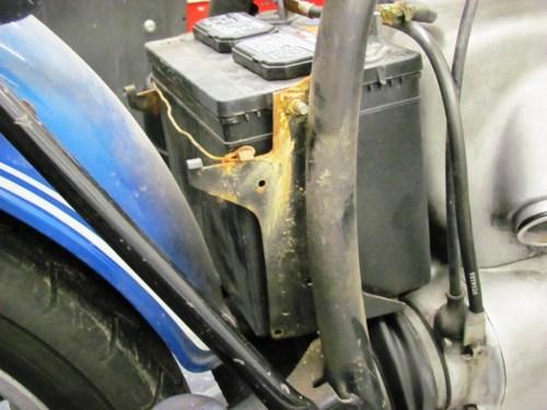 Battery Box Corrosion