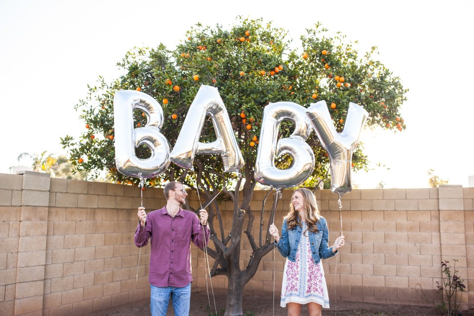 Phoenix Lifestyle Baby Announcement Photos