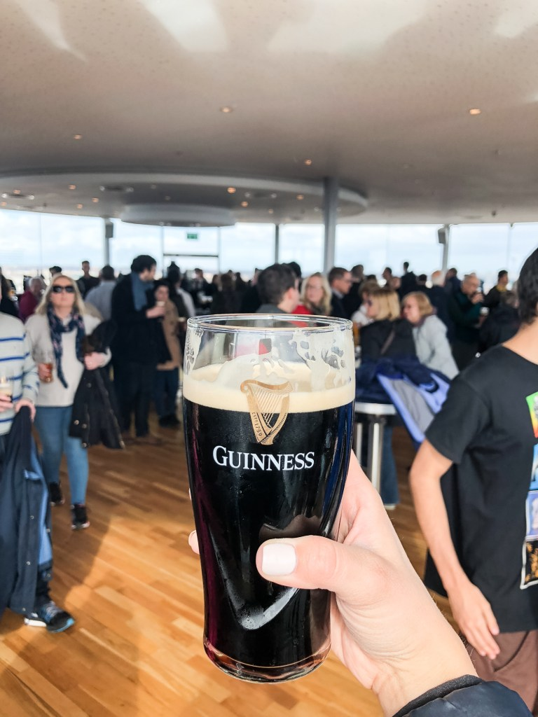 guinness factory gravity bar dublin ireland