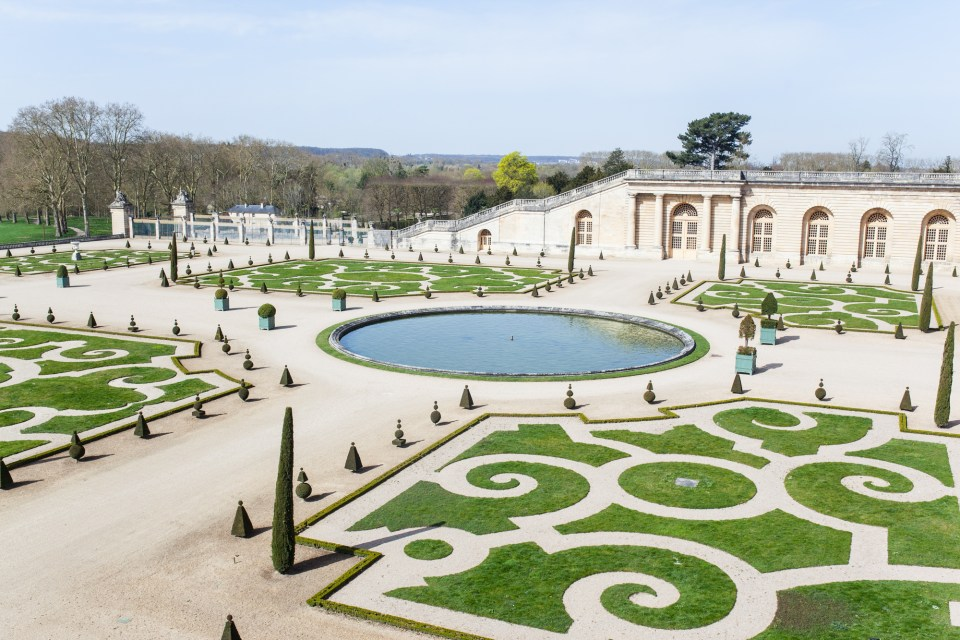 Palace of Versailles Gardens Paris France