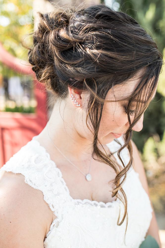 bridal crawl earrings