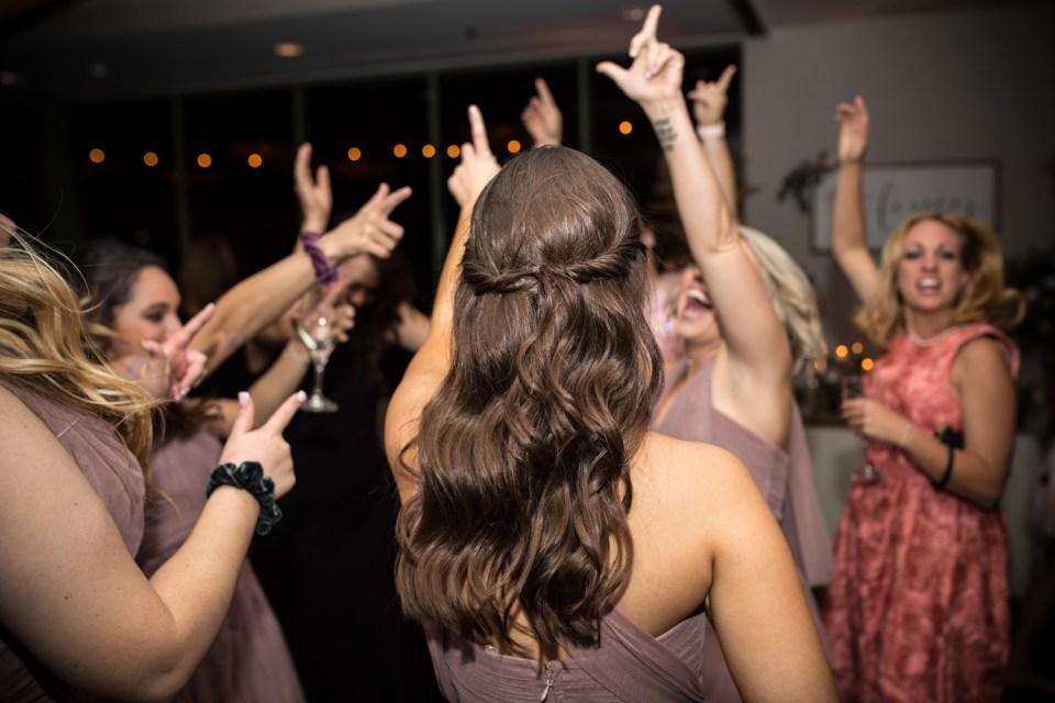 troon north wedding reception dancing