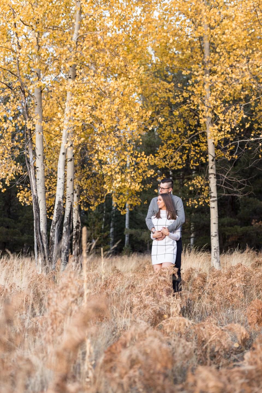 Flagstaff Engagement Photography Brooke & Doug Photography Fall Flagstaff Engagement Pictures