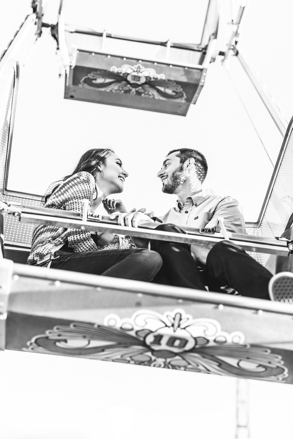 Arizona state fair engagement pictures by brooke and doug photography