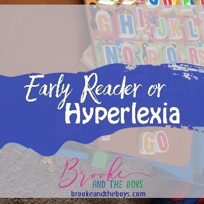 Early Reader or Hyperlexia?