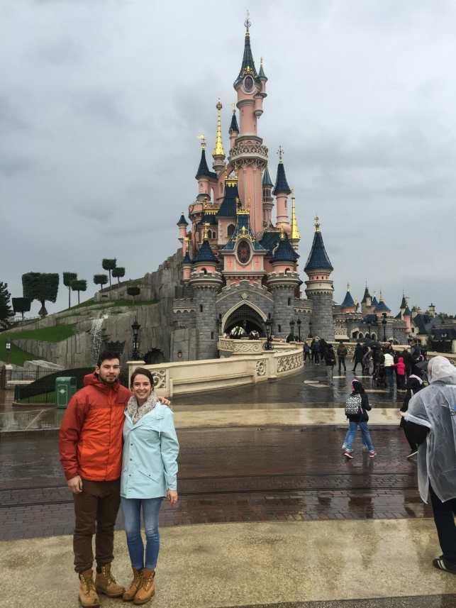 Me and Cal at Disneyland Paris