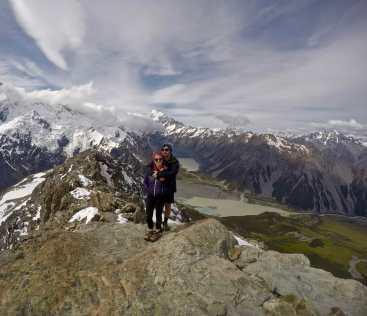 Mt Ollivier summit