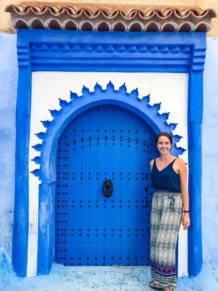 Another stunning blue door