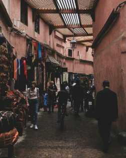 Wandering through the souks