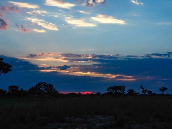 Sun rising over the Delta