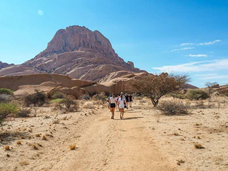 Off on our desert walk