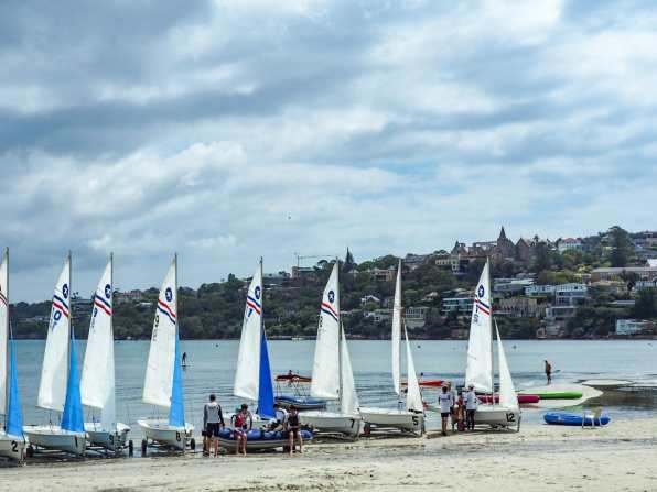 Sailing club at Rose Bay