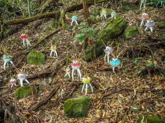 Strange little forest critters