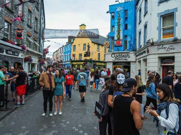Strolling through Galway