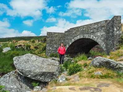 "Below the ""PS I Love You bridge"" in the Wicklow Mountains National Park"