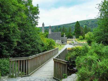 Glendalough, a 6th century monastic settlement