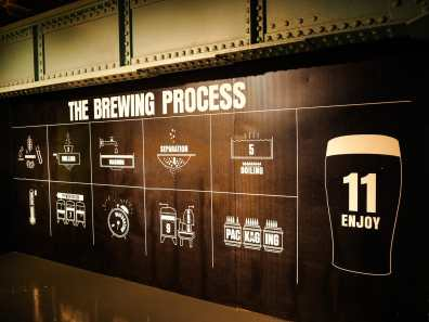 Learning all about how Guinness is made