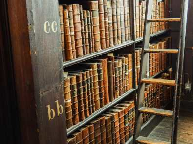 The Long Room Library is a book-lover's paradise