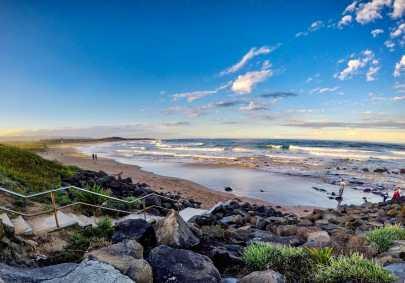 Beautiful beaches in Wollongong