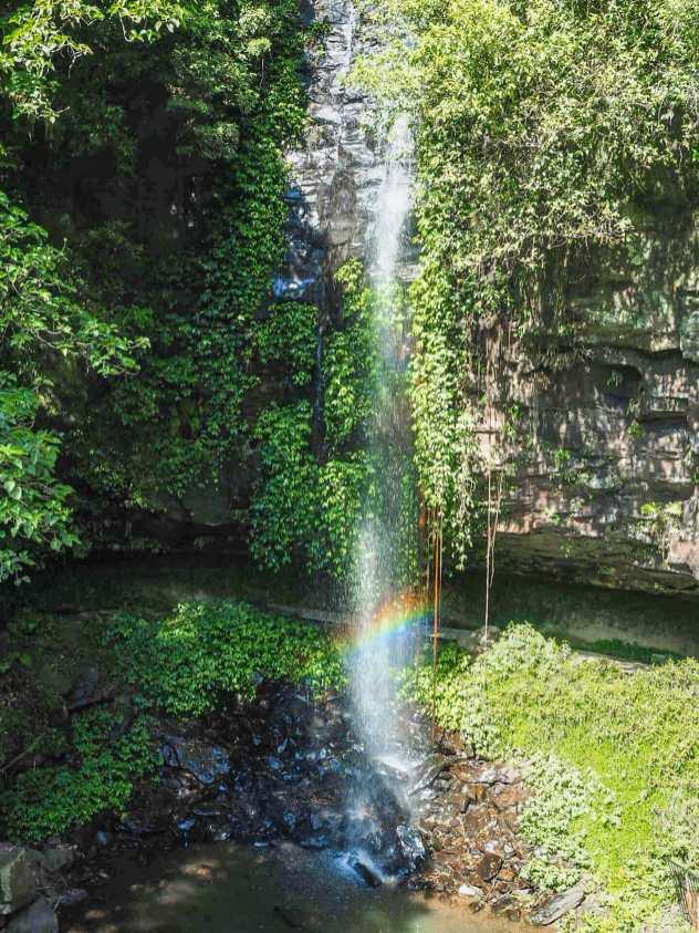 Crystal Shower Falls on Waterfall Way