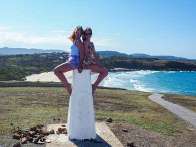 Me and Diana at Look At Me Now Headland