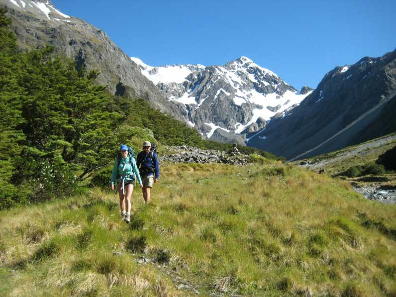 Hiking in Arthur's Pass