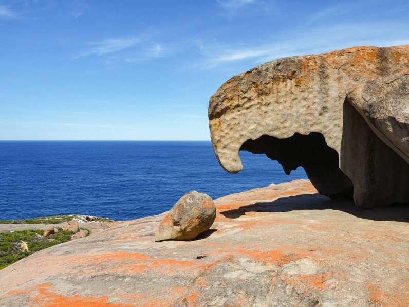 A beak-like section of Remarkable Rocks