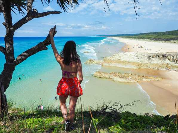 We found paradise on North Stradbroke Island