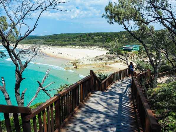 Just one of Straddie's infinite beaches