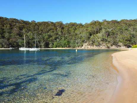 Excellent swimming at The Basin
