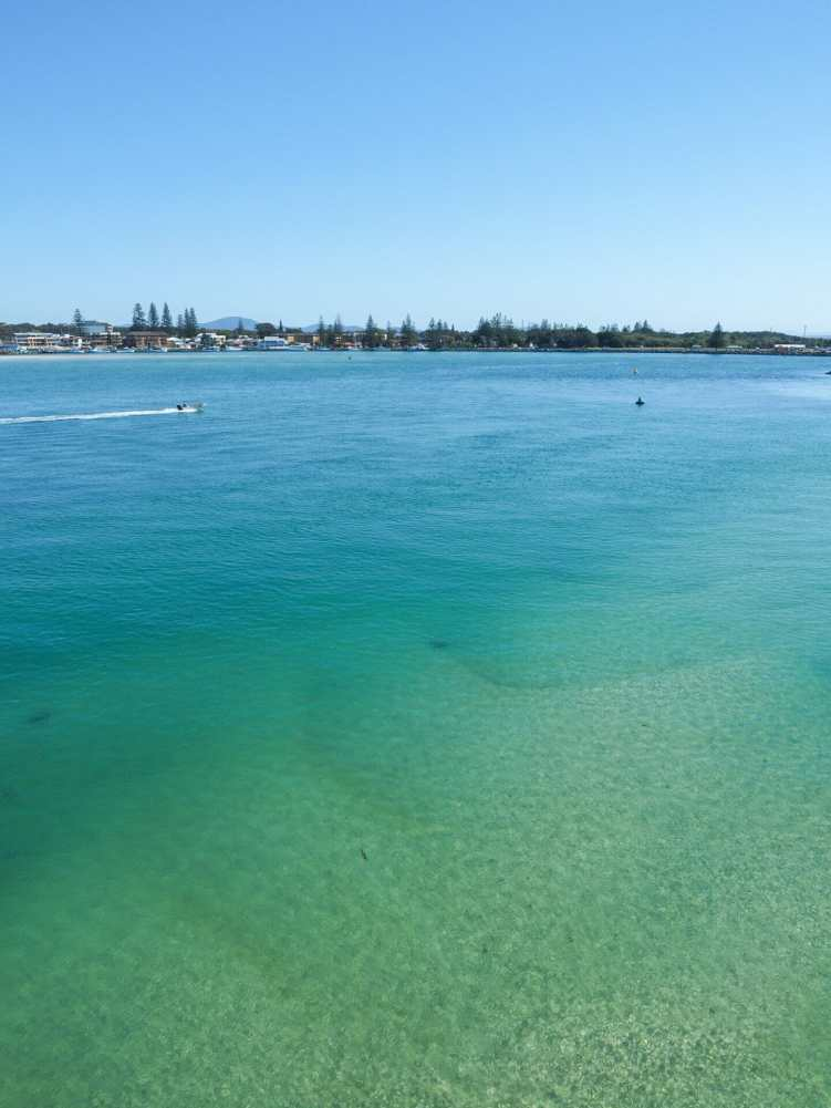 Incredibly inviting water in Forster