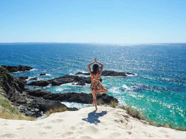 Enjoying the Forster coastline