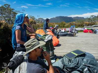 Our Overland Track family