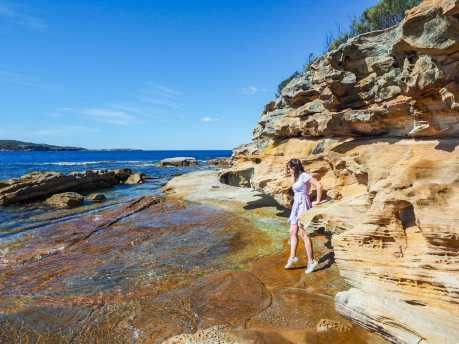 Exploring nearby Kurnell