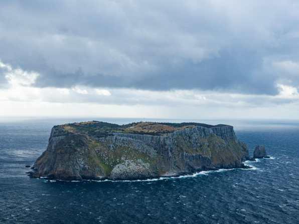 Desolate and eerily beautiful Tasman Island