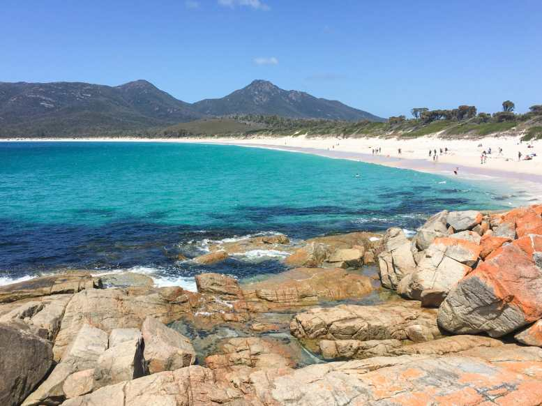 A beautiful afternoon at Wineglass Bay