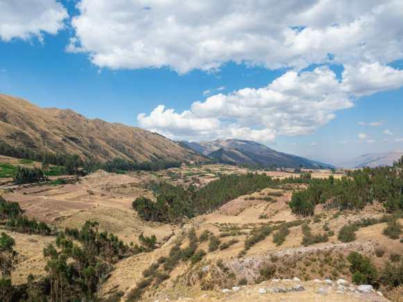 Beautiful view from Puka Pukara