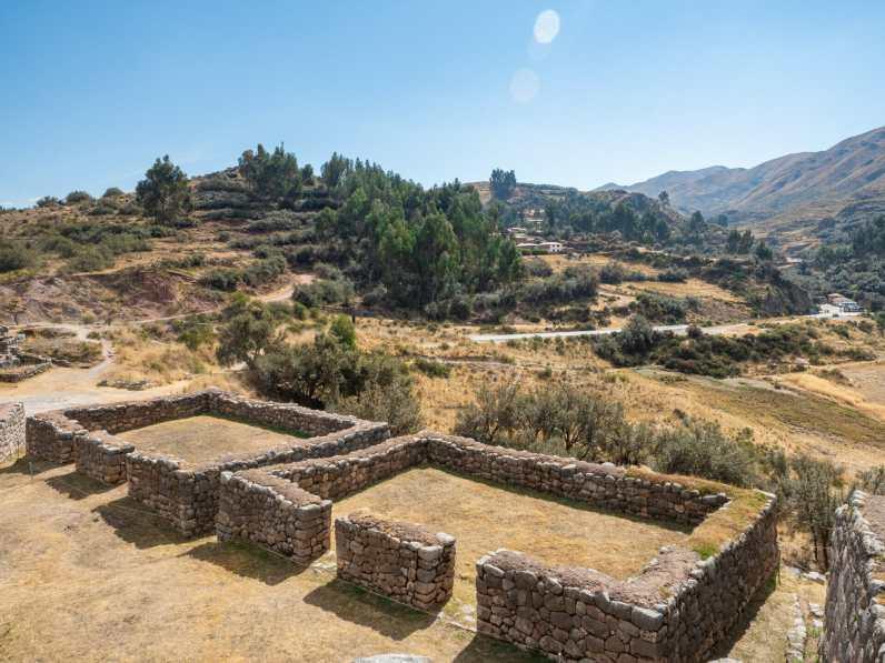 Puka Pukara ruins near Cusco