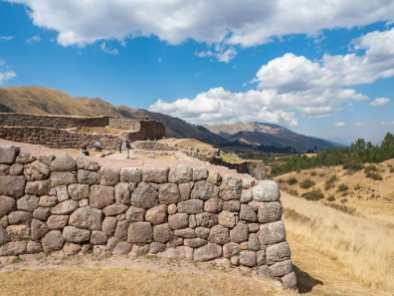Incan stonework at Puka Pukara