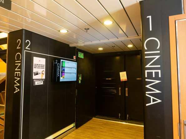 2 cinemas onboard the Spirit